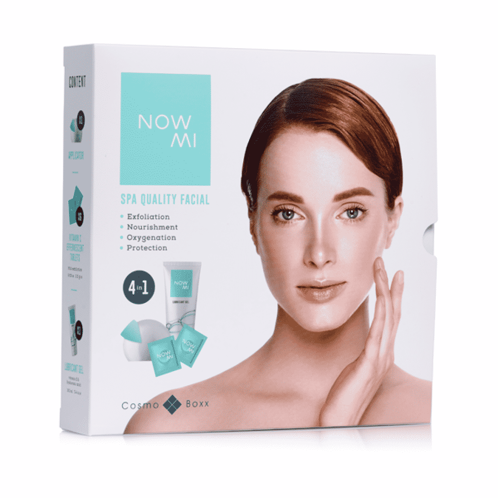 The NowMi Basic kit for anti-aging oxygen facial