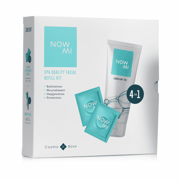 NowMI Refill Kit for facial treatment