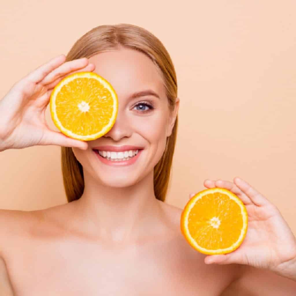 the NowMi treatment uses pure vitamin C