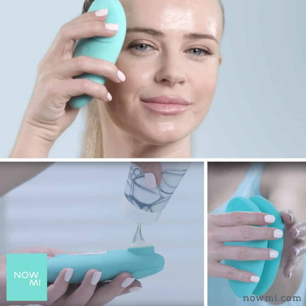 nowmi pro vitamin C oxygen facial for skin tightening treatment
