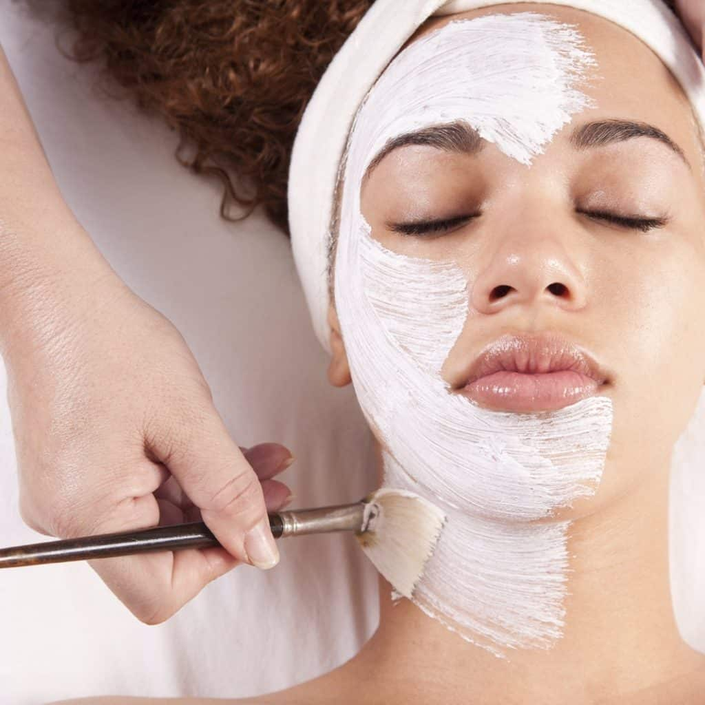 anti-aging facials treatment in a spa