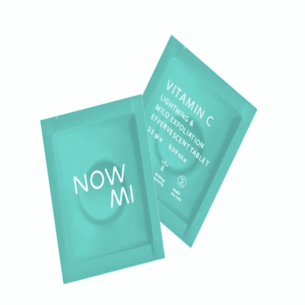 The NowMi sealed vitamin C pouches