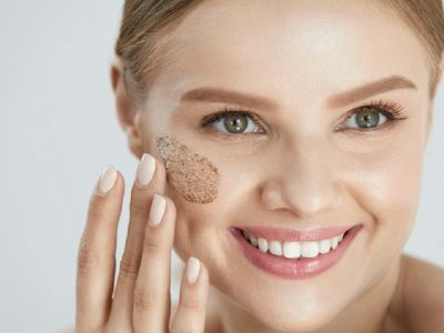 Exfoliating techniques for facial skin