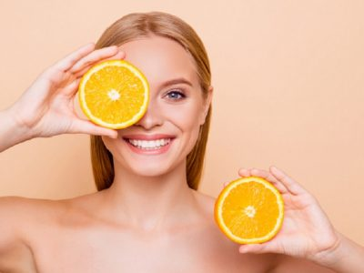 The NowMi treatment infuses the skin with vitamin C